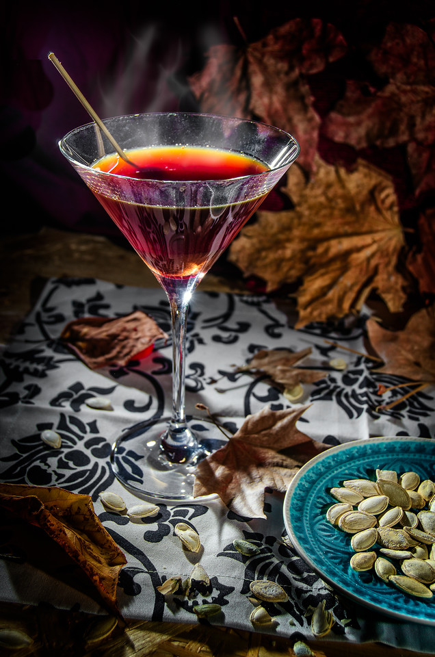 The Warm Autumn day Martini