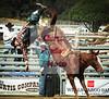 Blake McFann off Growney Bros horse Tattle Tail  San Dimas, CA 2010
