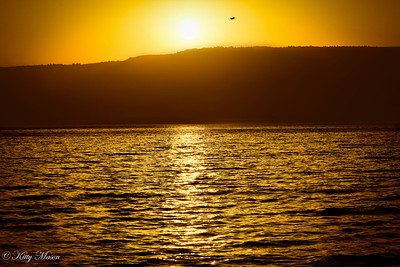 Sunrise on the Sea of Galilee, Tiberius, Israel
