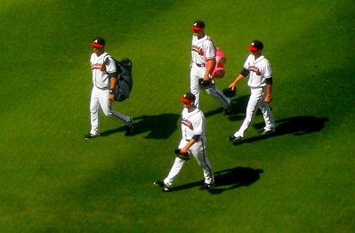 Atlanta Braves - I actually captured this picture with my pocket camera!