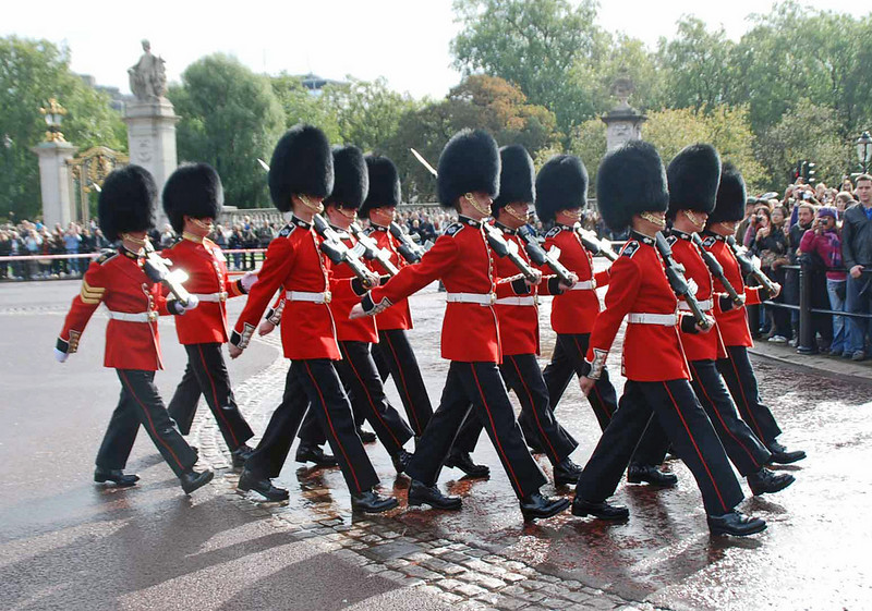 The Queen's Guards.