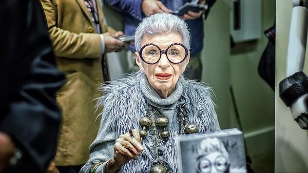'Iris Apfel, Fashion Icon'