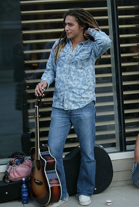 Jason Castro 2008 American Idol  outside of W hotel Victory Park Dallas Texas ©Jerry McClure