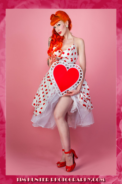 "Happy Valentine's 2012 - Ms. Nikki Napalm.<br />  <a href=""http://www.facebook.com/timhunterphotography"">http://www.facebook.com/timhunterphotography</a><br />  <a href=""http://www.timhunterphotography.com/"">http://www.timhunterphotography.com/</a>"