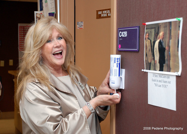 """If Connie Stevens can foam in & foam out """"SO can YOU"""""""