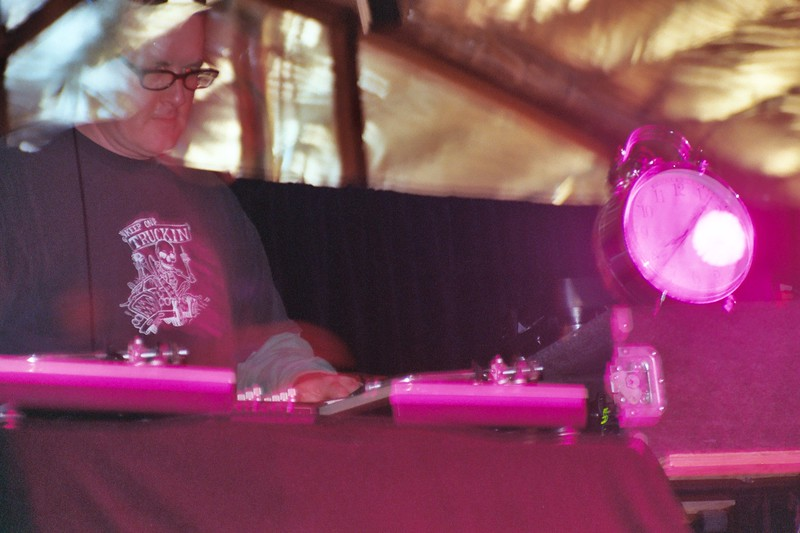 Art Hodge, DJ, Experimental Music Festival, Visual Arts Collective, Boise, Idaho, 2006