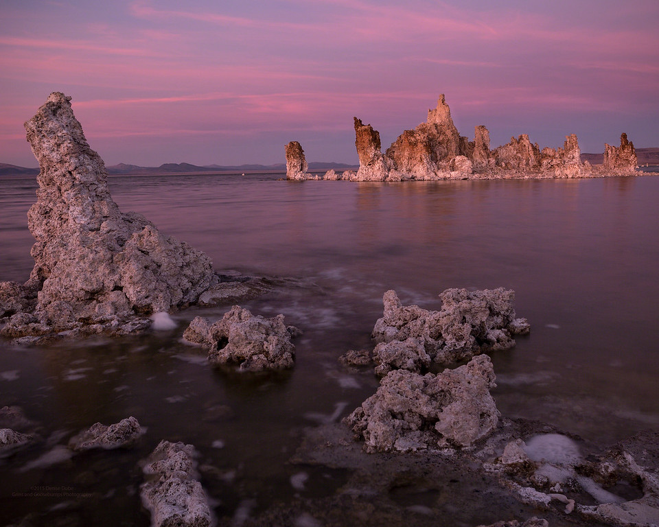 Dusted Pink Breeze Over mono Lake