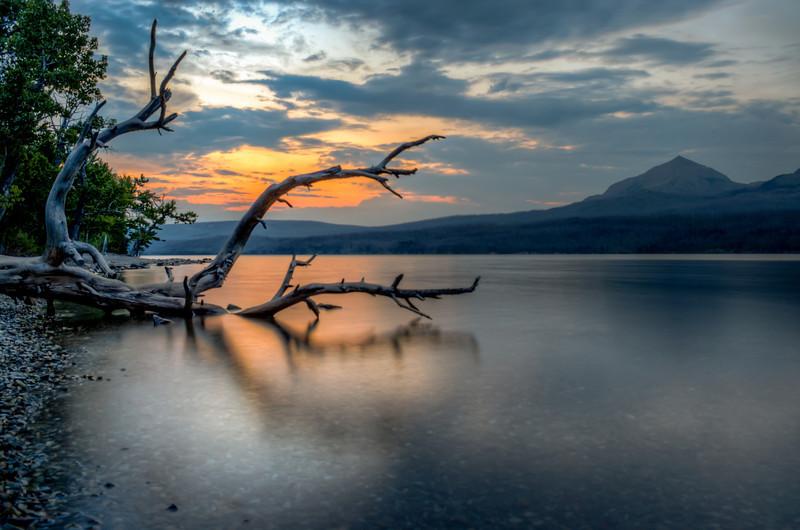 Sunrise at St. Mary's Lake - Glacier National Park - Montana