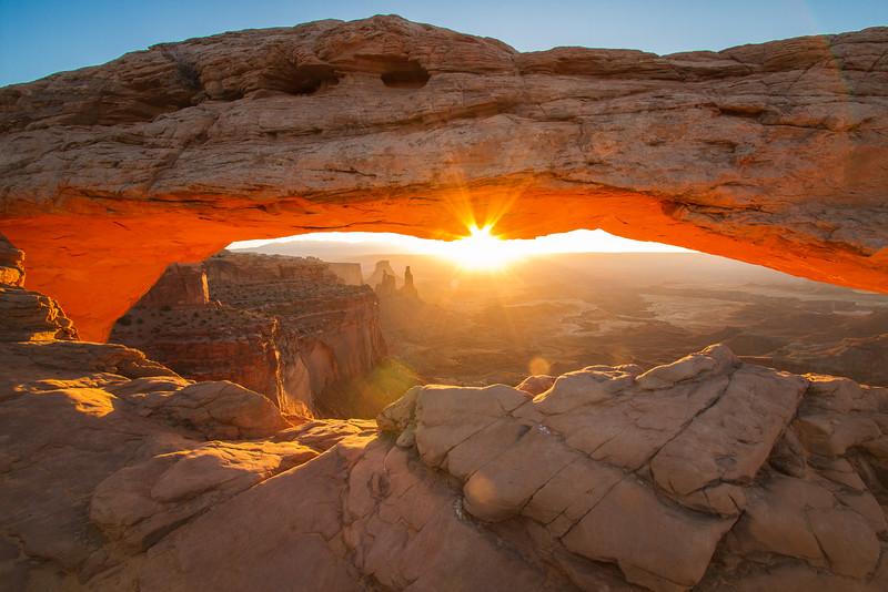 Sunrise at the Mesa