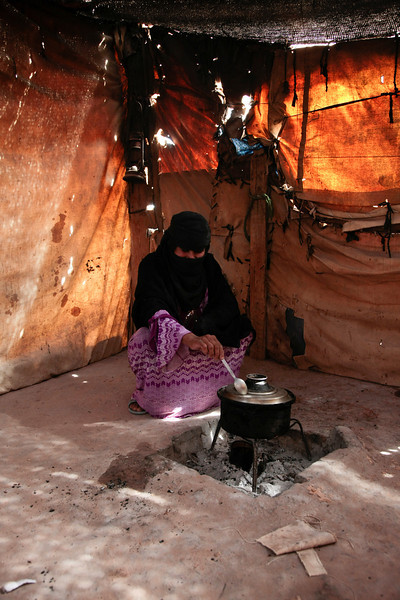 Cooking in the Desert  - Egypt