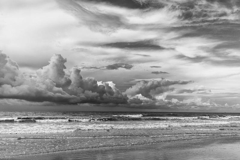 Morning Clouds at Isle of Palms