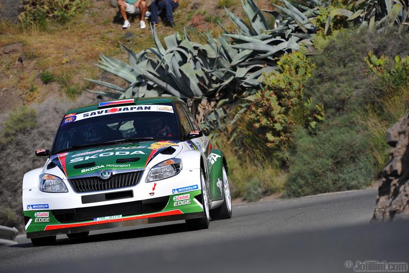 Jan Kopecky (CZE) Petr Stary (CZE) Skoda Fabia S2000, Skoda Motorsport
