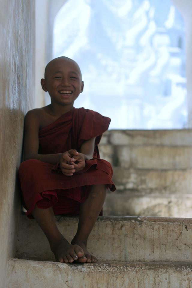 Young Monk in Mingun