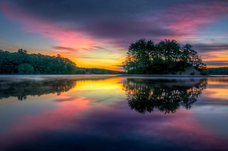 Clear Pink Dawn - Hopkinton State Park