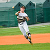 Dale Thomas makes play from shortstop for Bishop Moore.