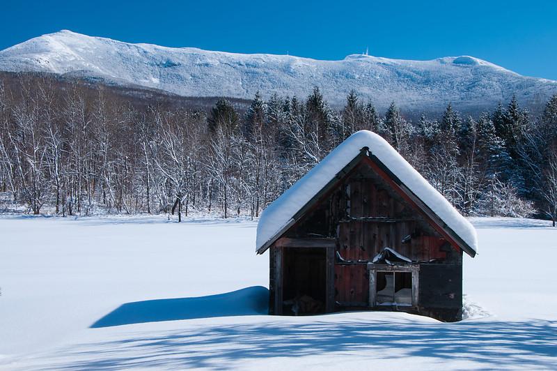 Snowy Cabin_