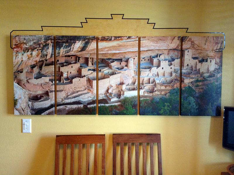26 x 65 Pentych (5 panel) Panorama