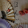 """Title: Nihongo (Japanese Language)<br /> Category: Book Cover<br /> Location: Home<br /> Notes: This shot was used for the cover of """"Learn Japanese Book 1"""" an educational book and CD to teach reading, writing, speaking and listening of the Japanese language. I co-authored this book with my wife Ritsuko. The calligraphy says """"ni-ho-n-go"""" (Japanese Language). Available light shot, taken with a Nikon D50 camera + Sigma 24-70 f/2.8 lens."""