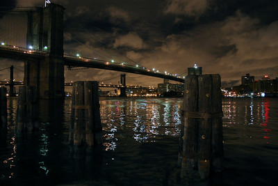 The East River at Night