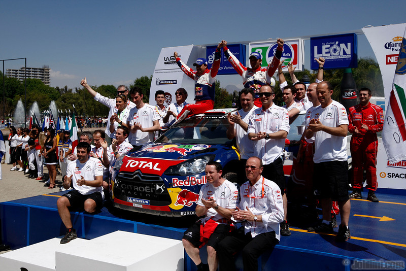 01 loeb s elena d (fra mc) citroen DS3 WRC mexique 1er -3