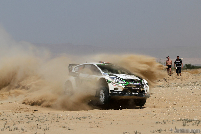 wilson m martin s (gb) ford fiesta RS WRC jordanie (j lillini) 19