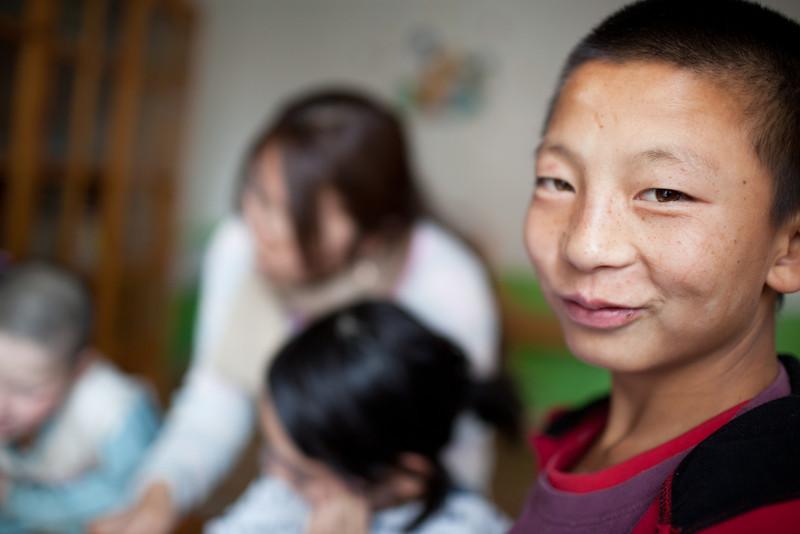 Homeless children - Mongolia