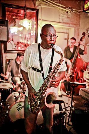 'Jazz Nite'<br /> Subject: Shelley Carroll<br /> Daniel Driensky © 2009