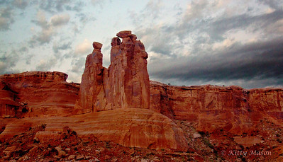 Three Gossips, Canyonlands National Park, Arches National Park, Utah
