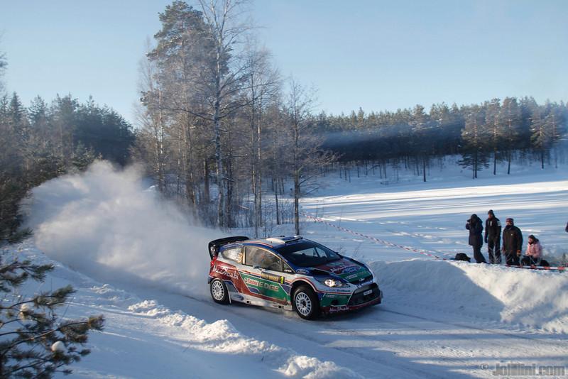 3 hirvonen m lehtinen j(fin) ford fiesta RS WRC 31