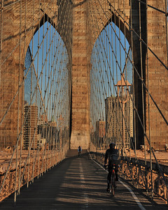 Bikin' Brooklyn Bridge