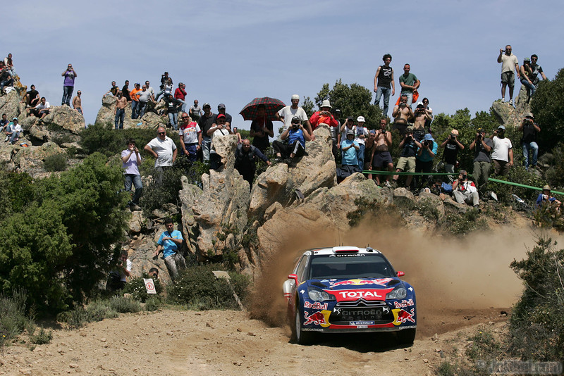 loeb s elena d (fra mc) citroen DS3 WRC sardaigne(jl)83