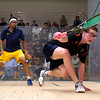 2011 College Squash Individual Championships: Todd Harrity (Princeton) and Vikram Malholtra (Trinity)<br /> <br /> This photo was published in the March 2011 issue of Squash Magazine (page 332).
