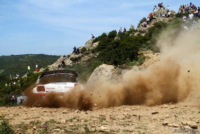 ogier s ingrassia j (fra) citroen DS3 WRC sardaigne (jl)82
