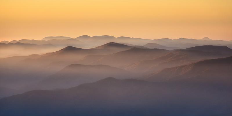 Smoky Sunrise, Great Smoky Mountains National Park