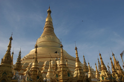 Central Spires, Shwedagon Paya, Rangoon