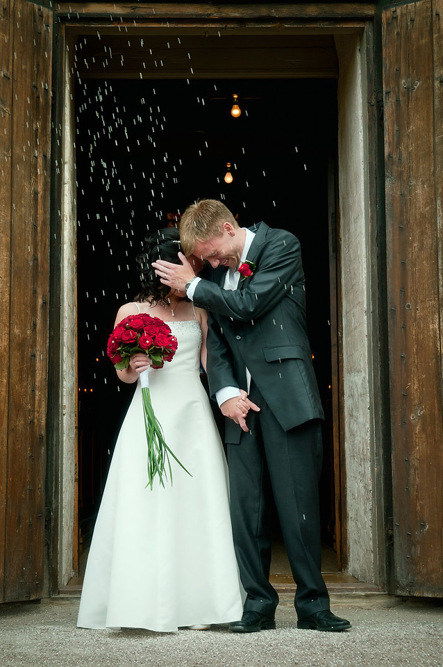 Bröllop i Dalarna 2010-07-25, Torsångs kyrka, Jenny och Anders
