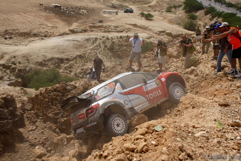 solberg p patterson c ( nor gb) citroen DS3 WRC jordanie crash (j lillini) 21
