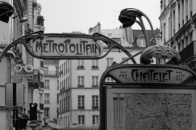 Chatelet Metro Station