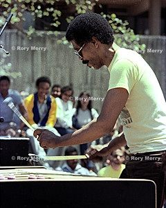 Bobby Hutcherson born January 27, 1941, Los Angeles is a jazz vibraphone and marimba player.