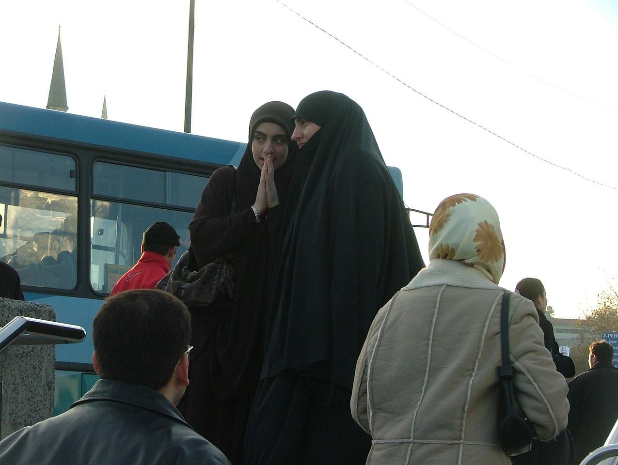 Two women at Eminonu