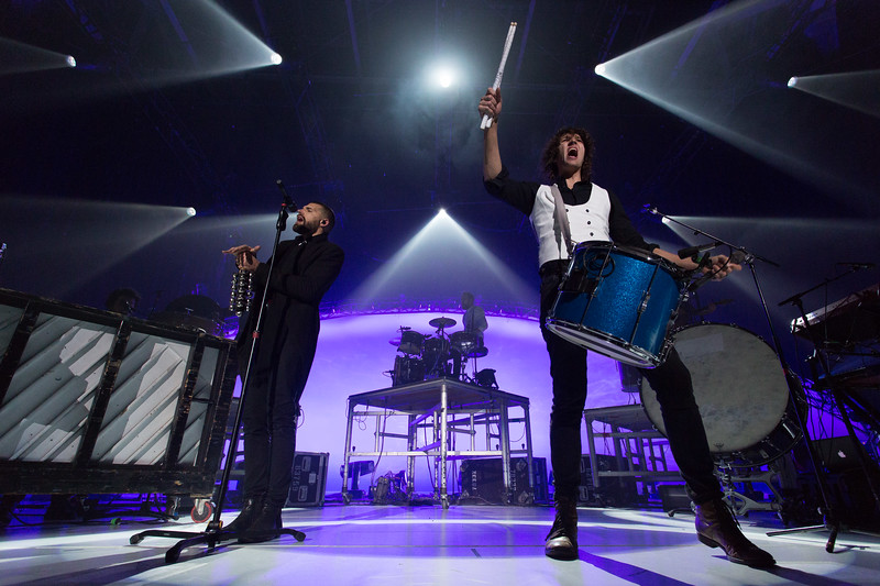 For KING & COUNTRY performs onstage on December 8, 2016 at Baxter Arena in Omaha, Nebraska.