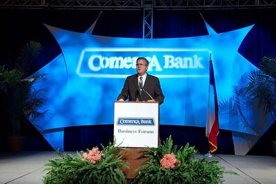 Jeb Bush, Comerica Bank,Business Forum, ©Jerry McClure