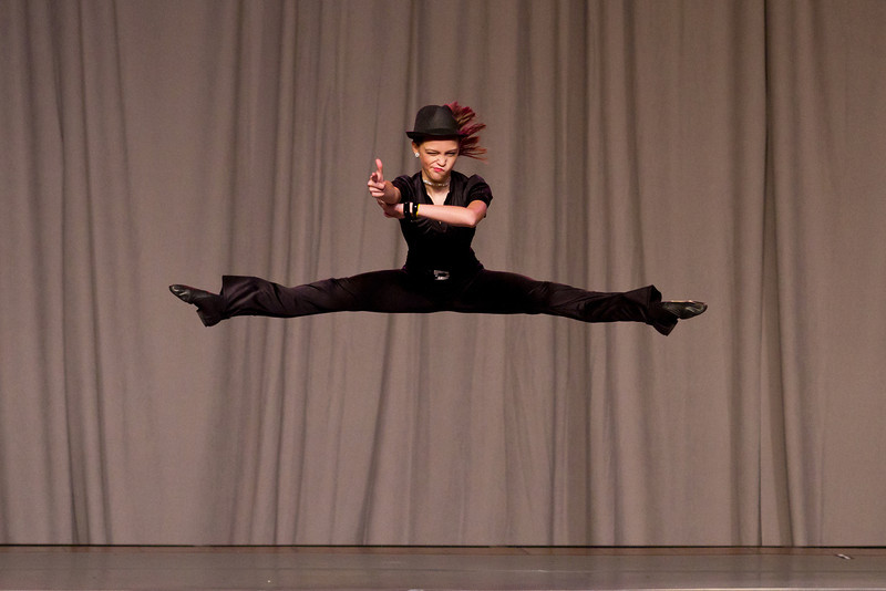 """November 25, 2012 - Shania Grace performs her Jazz Solo """"Spy"""" during the annual Florida Dancemasters  Convention at the Renaissance Orlando Hotel . Competing in the Rising Star Competition, as part of the convention, Shania finished 3rd out of 10 in her category that day."""