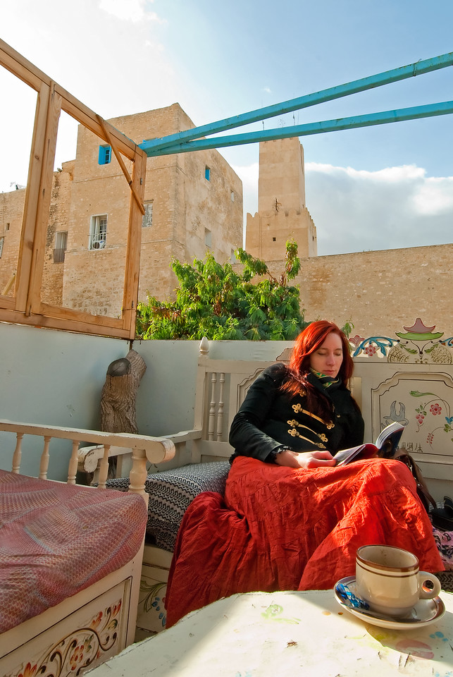 Hanna in Sousse