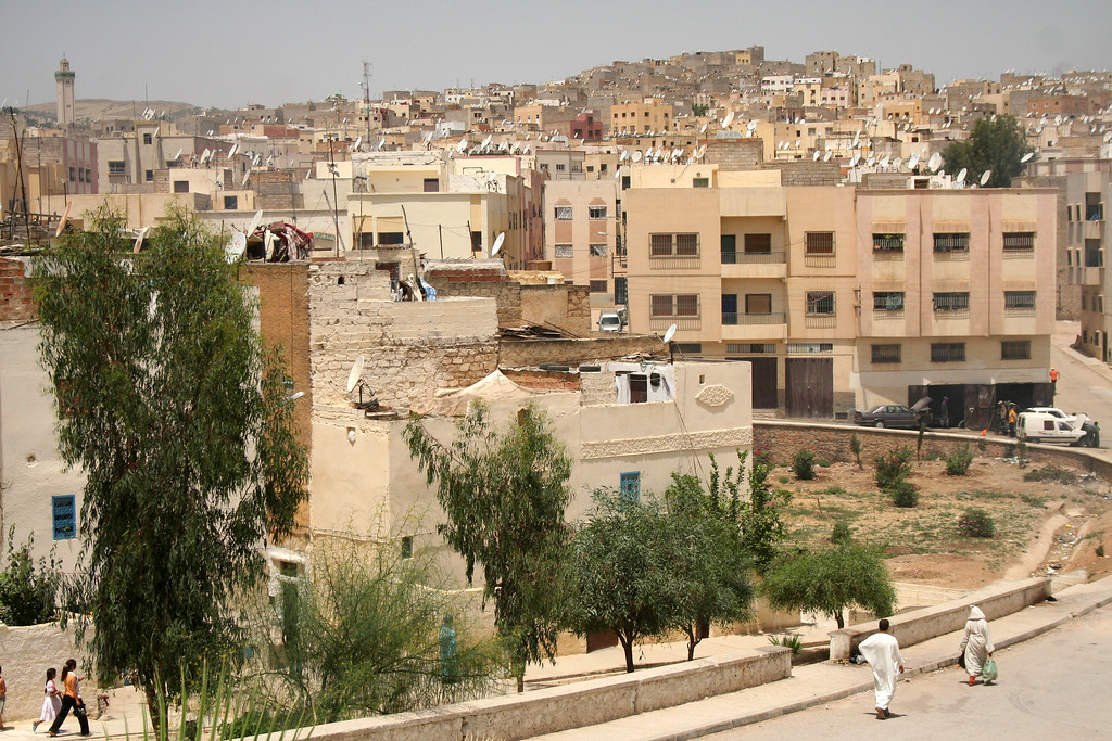 The not-so-ancient section of Fes<br /> <br /> Morocco