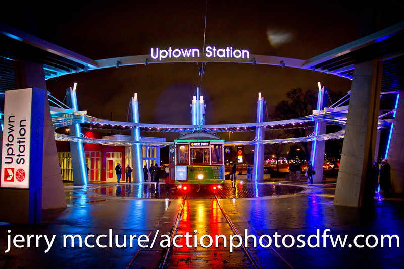 Trolley Car Turntable Uptown Station
