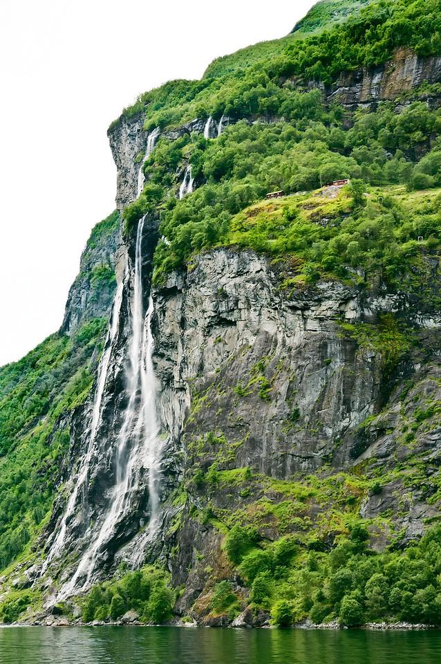 Farm at the cliff - Geirangerfjord