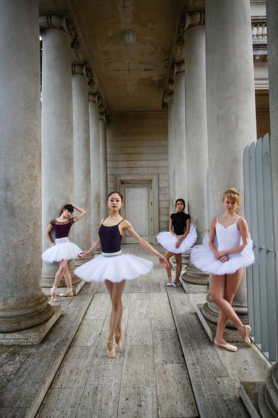 Dancers - Emma Rubinowitz, Koto Ishihara, Jeraldine Mendoza & Alanna Endahl.<br /> <br /> © 2012 Oliver Endahl