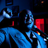 """Joe Walker, of the band Cuttaway Creek, belts out a cover of Pat Green's """"Carry On"""" at the Inwood Tavern's 48th birthday celebration Friday, June 1, 2012 in Dallas."""