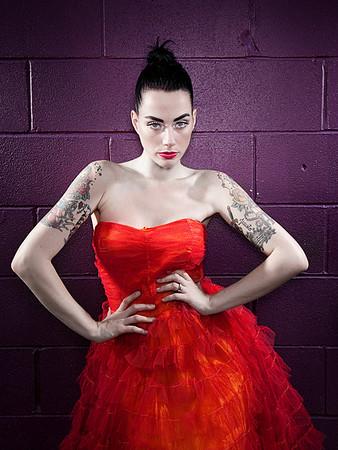 'The Red Dress'<br /> Model: Jayme Foxx<br /> Daniel Driensky © 2010